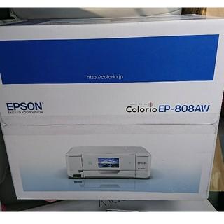 エプソン(EPSON)のジョリー様専用 新品 プリンター EP-808AW(PC周辺機器)
