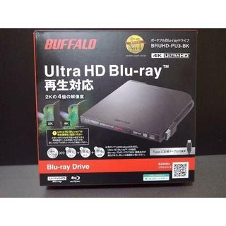 バッファロー(Buffalo)のrinko様専用 BRUHD-PU3-BK UHD BD対応(PC周辺機器)