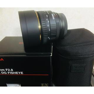 SIGMA - SIGMA 15mm F2.8 EX DG FISHEYE ニコン用