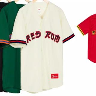 シュプリーム(Supreme)のsupreme  Red Rum Baseball Jersey(シャツ)