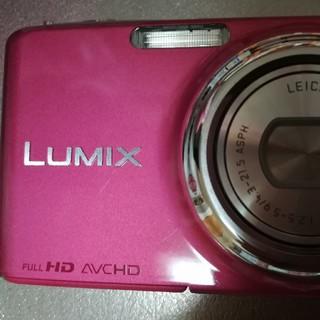 パナソニック(Panasonic)の 確認用✨LUMIX グラマラスピンク DMC-FX77-P(コンパクトデジタルカメラ)