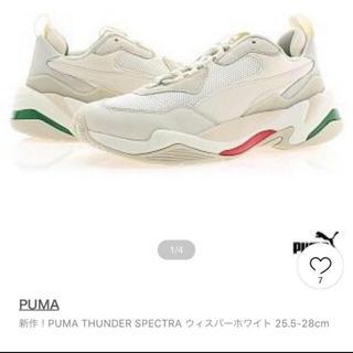 プーマ(PUMA)のプーマ サンダースペクトラ 韓国限定(スニーカー)