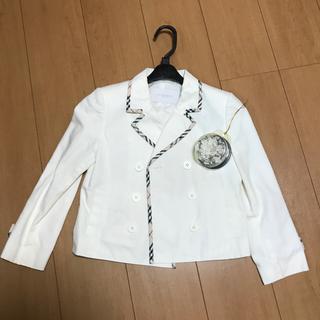 バーバリー(BURBERRY)のBURBERRY 女児用スーツ(size120A)(ドレス/フォーマル)