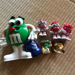 m&m'sフィギュアコレクション(キャラクターグッズ)