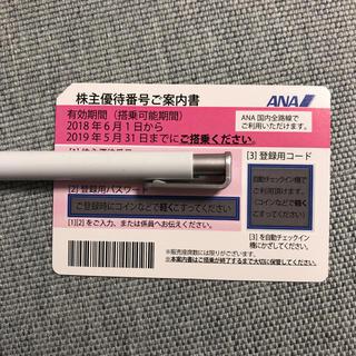 ANA 株主優待 1枚 アナ 株主優待券(航空券)