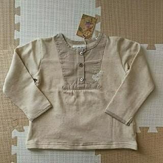 エスティークローゼット(s.t.closet)の110cm 新品 S.TCLOSET ナチュラル系 カットソー(Tシャツ/カットソー)