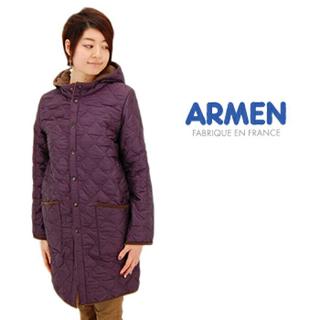 アーメン(ARMEN)のアーメンパープルコート(ブルゾン)