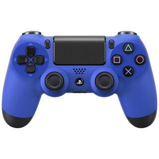 プレイステーション4(PlayStation4)のワイヤレスコントローラー (DUALSHOCK 4) ウェイブ・ブルー(その他)