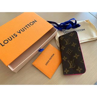 ルイヴィトン(LOUIS VUITTON)のヴィトン スマホケース(iPhoneケース)