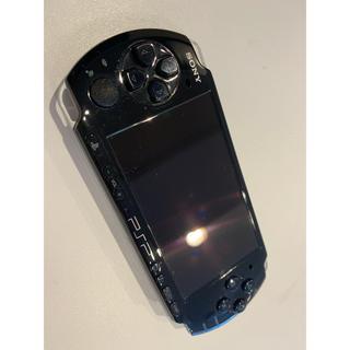 プレイステーションポータブル(PlayStation Portable)のPSP 3000 ブラック(携帯用ゲーム本体)