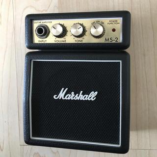 マーシャル ミニアンプ  MS-2(ギターアンプ)