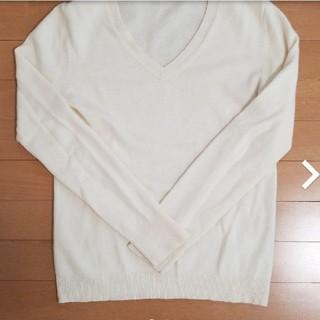 ユニクロ(UNIQLO)のユニクロ カシミヤVネックセーターM(ニット/セーター)
