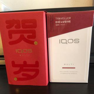 アイコス(IQOS)の海外限定 ラディアンレッド IQOS3 マルチ(タバコグッズ)