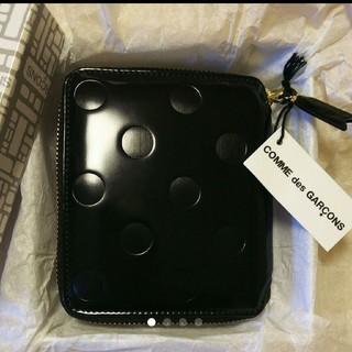 コムデギャルソン(COMME des GARCONS)のコムデギャルソン 二つ折り 財布 ドット(財布)
