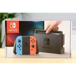 ニンテンドースイッチ(Nintendo Switch)の【新品未開封】任天堂 スイッチ・Nintendo Switch(家庭用ゲーム本体)