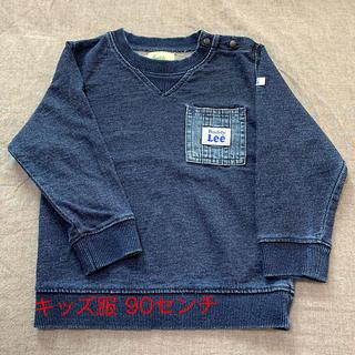 バディーリー(Buddy Lee)の【安値】Buddy Lee デニム生地調の長袖スウェット キッズ服 90センチ(Tシャツ/カットソー)