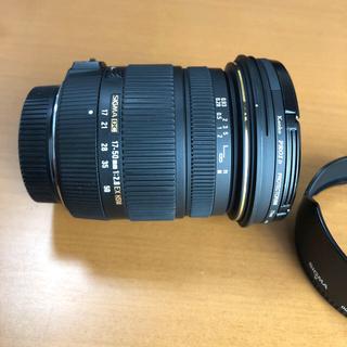 SIGMA - 17-50mm F2.8 EX DC OS HSM Nikon レンズフィルタ付