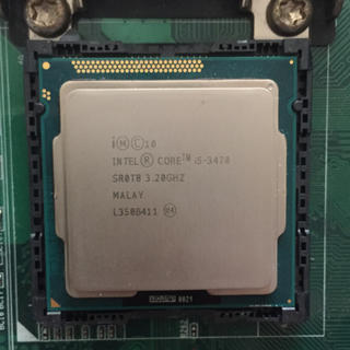 【中古】Intel Core i5 3470【LGA1155】(PCパーツ)
