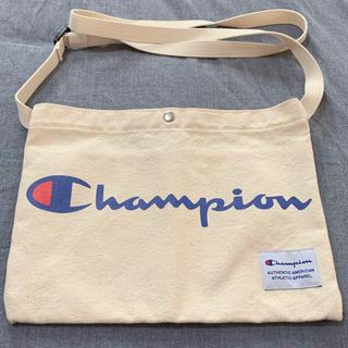 チャンピオン(Champion)の【美品】Champion ショルダーバッグ (ショルダーバッグ)