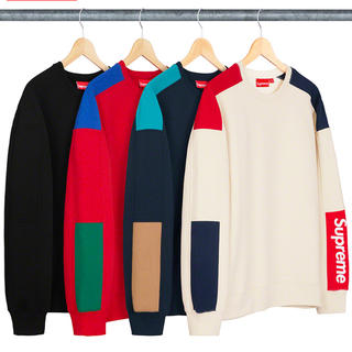 シュプリーム(Supreme)のsupreme formula crew neck black M(スウェット)