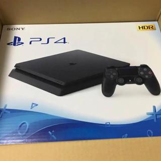 プレイステーション4(PlayStation4)のPS4  500GB  CUH-2100A  ジェットブラック(家庭用ゲーム本体)