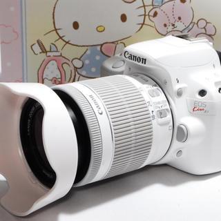 キヤノン(Canon)の☆大人気のホワイト☆Canon Kiss x7 レンズキット♪☆(デジタル一眼)
