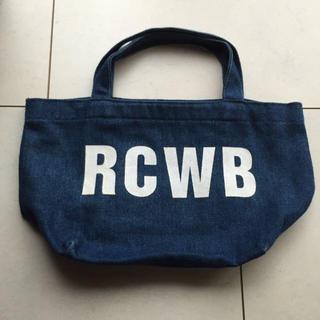 ロデオクラウンズワイドボウル(RODEO CROWNS WIDE BOWL)のRCWBロデオクラウンミニトート(ハンドバッグ)