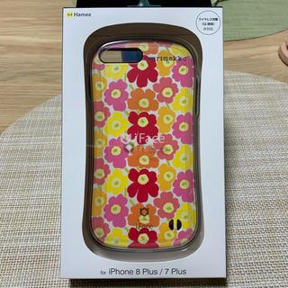 マリメッコ(marimekko)のiFace First Class iPhone 8plus 7plus 美品☆(iPhoneケース)