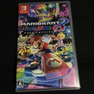ニンテンドースイッチ(Nintendo Switch)のマリオカート デラックス 8 switch(携帯用ゲームソフト)