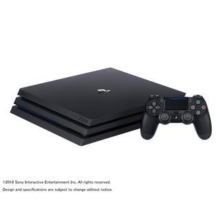 プレイステーション4(PlayStation4)の【美品】 SONY PS4 Pro CUH-7200 ジェットブラック ソニー(家庭用ゲーム本体)
