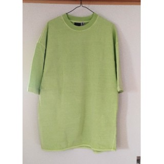 アディダス(adidas)のyeezy season3 ライムグリーン Tシャツ(Tシャツ/カットソー(半袖/袖なし))