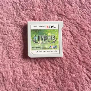 ニンテンドー3DS(ニンテンドー3DS)の(ソフトのみ)3DS 新世界樹の迷宮 ミレニアムの少女(携帯用ゲームソフト)