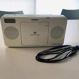 TOSHIBA CUTEBEAT CDプレーヤー(ラジオ)