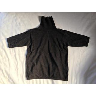 マックスマーラ(Max Mara)のMaxMara WEEKEND 半袖タートルニット(ニット/セーター)