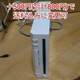 ウィー(Wii)のL wii ホワイト 本体のみ 動作確認済み(家庭用ゲーム本体)