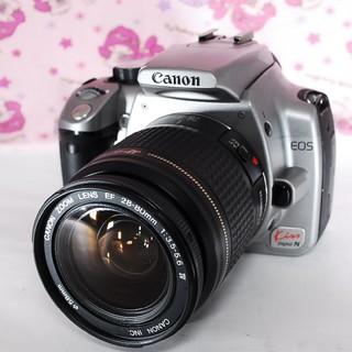 キヤノン(Canon)の❤Wi-Fi付き♪人気のシルバー!!❤Canon キャノン EOS kiss N(デジタル一眼)