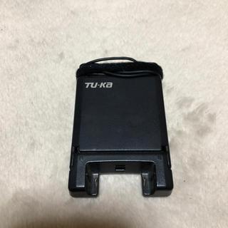 キョウセラ(京セラ)のTU-KA TK01用 卓上急速充電器 ACアダプター CQK01 (バッテリー/充電器)
