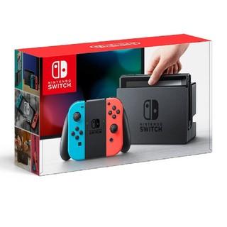ニンテンドースイッチ(Nintendo Switch)の【新品未開封】switch ネオンブルー/ ネオンレッド(家庭用ゲーム本体)