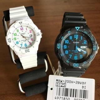 カシオ(CASIO)のペアセット✨カシオ CASIO レディース 腕時計 LRW200H-7B 2B(腕時計(アナログ))