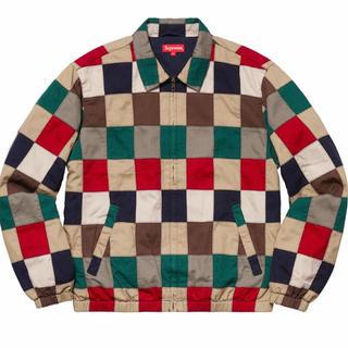 シュプリーム(Supreme)のPatchwork Harrington Jacket マルチカラー Lサイズ(ブルゾン)