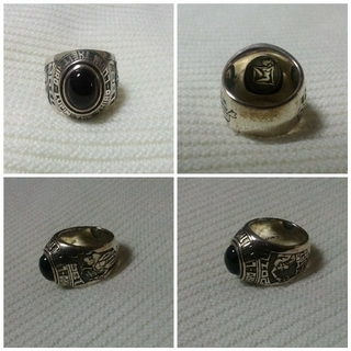 ルパン三世 カレッジリング シルバー 925 リング(リング(指輪))