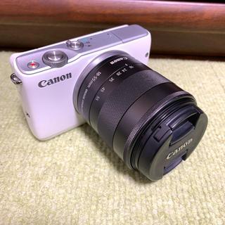 キヤノン(Canon)の早い者勝ち❗️Canon  EOS M10 レンズセット  ホワイト(ミラーレス一眼)