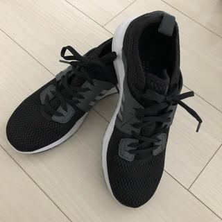 アディダス(adidas)のアディダス スニーカー cloudfoam 24.0cm 美品(スニーカー)