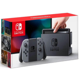 ニンテンドースイッチ(Nintendo Switch)のNintendo Switch グレー 新品未開封(家庭用ゲーム本体)
