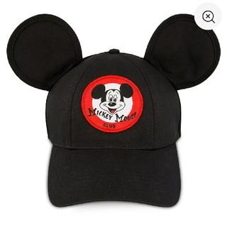 ディズニー(Disney)のディズニー ミッキー キャップ 帽子 ブラック ミッキーマウスクラブ(キャップ)