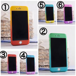 【360°カバー】 強化ガラス付 IPhone5/5s/SE/6/6s hs03(iPhoneケース)