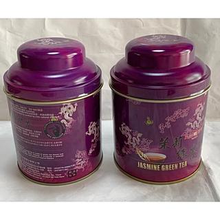 未開封 台湾 茉莉緑茶 ジャスミン緑茶  2缶 天仁茗茶 75g