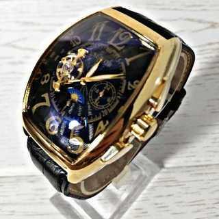 SEWAR7210black 腕時計 メンズ ウォッチ ブラック&ゴールド (腕時計(アナログ))