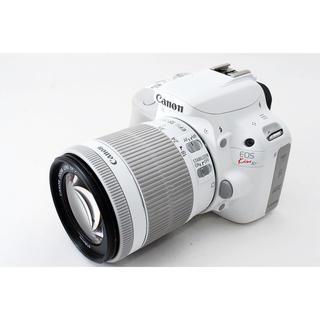 キヤノン(Canon)の☆WiFi対応☆オシャレホワイト☆Canon kiss X7 レンズ(デジタル一眼)