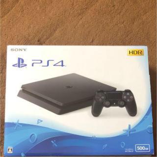 プレイステーション4(PlayStation4)のPS4本体 新品未開封  送料無料(家庭用ゲーム本体)